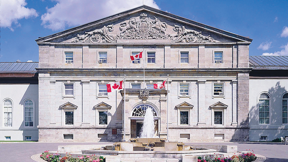 Rideau Hall official Governor General of Canada's residence Trimtag Trivia Quiz
