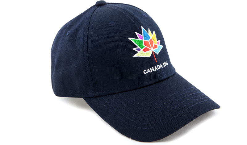 Trimtag Canada 150 baseball cap