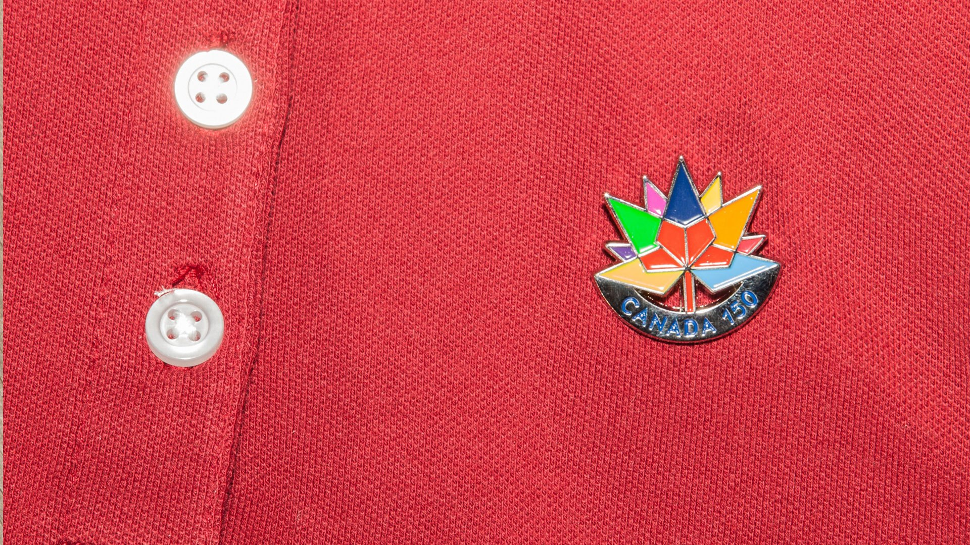 Trimtag official Canada 150 pin can be customized for your organization or event