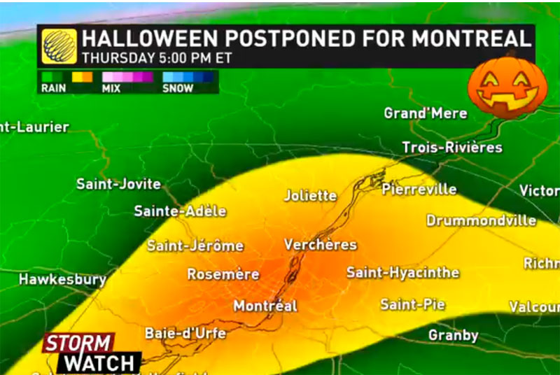 Halloween on hold, time change may be cancelled