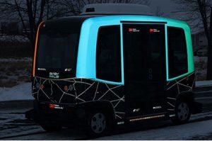 3M reflective visibility design on MnDot shuttle