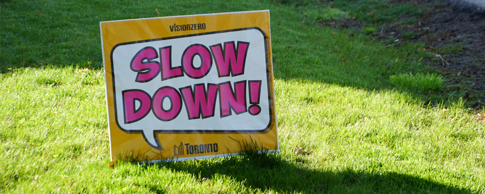 Go slow is key to Vision Zero and restarting the econcomy