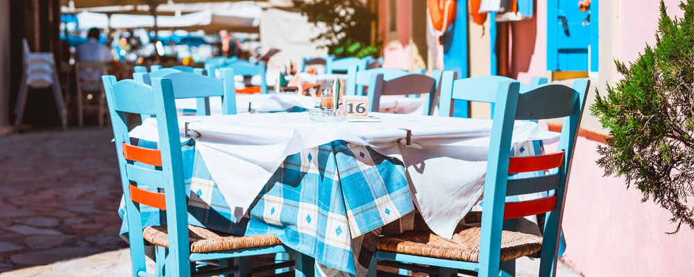 Welcome back to alfresco dining