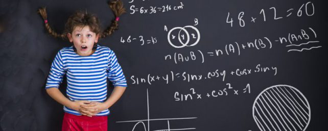 Unusual back to school rules and blackboard fright for young student