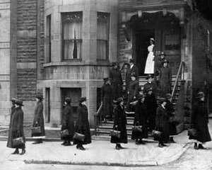 VON Victorian Order of Nurses Argyle St Ottawa designated National Historic Event in 1997