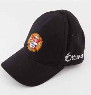 Military hats now include baseball styles like this Ottawa Fire Service baseball cap ©Trimtag Trading Inc.g