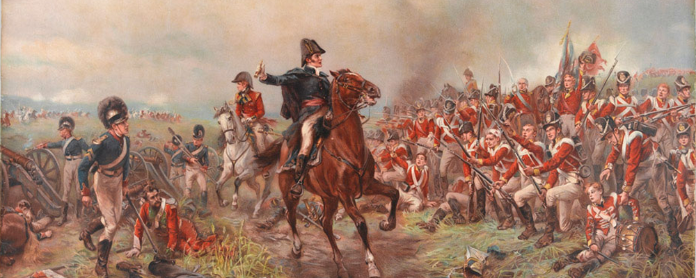 Wellington at Waterloo 1815, collection of the National Army Museum, London